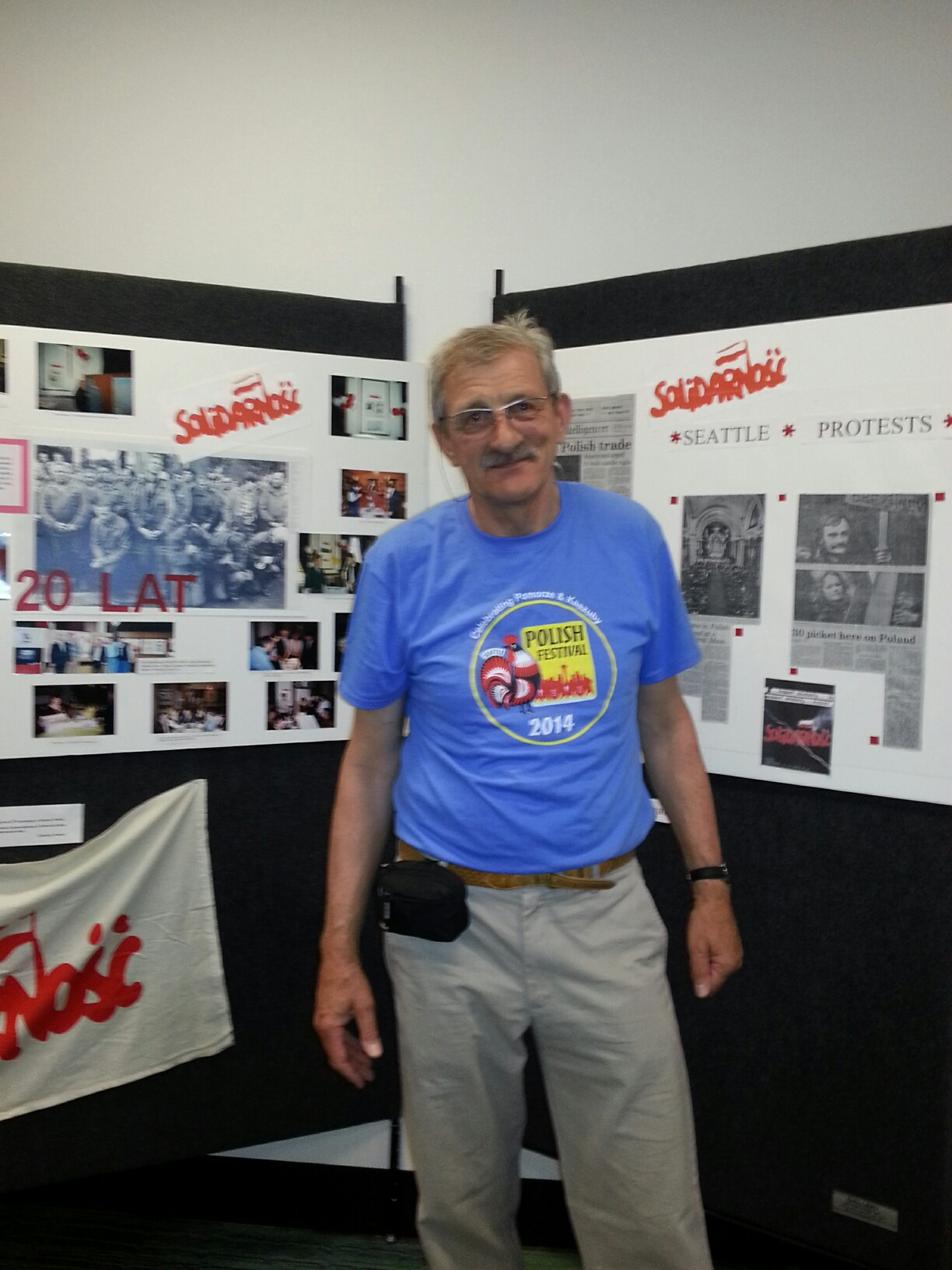 Krzysztof Poraj Kuczewski--Wystawy  na 3 Polskim Festiwalu w Seattle-2014.